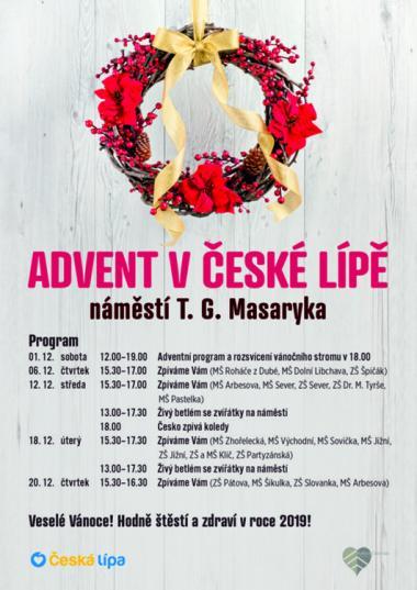 ADVENT V ČESKÉ LÍPĚ