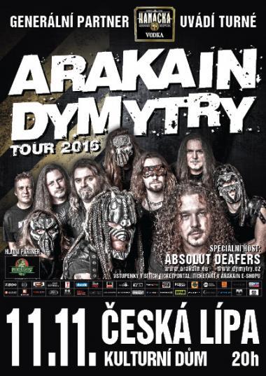 PODZIMNÍ ARAKAIN DYMYTRY TOUR 2016