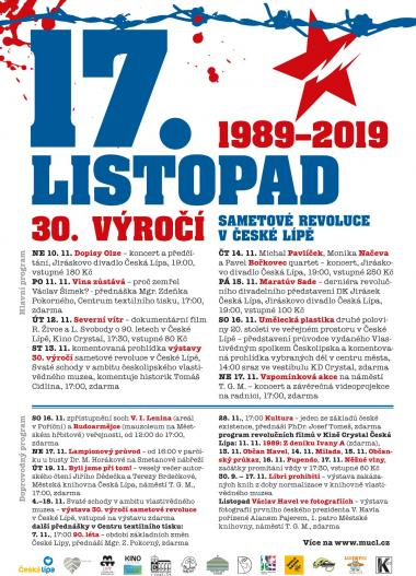 17. LISTOPAD 1989-2019