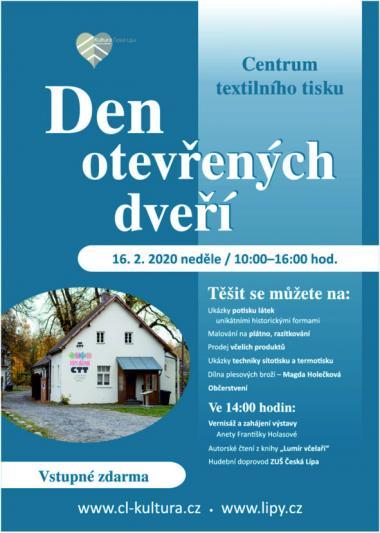 Den otevřených dveří - Centrum textilního tisku