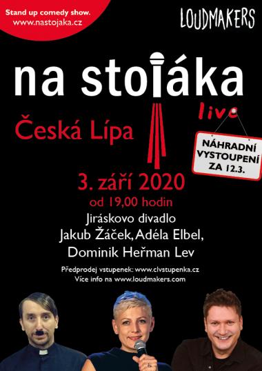 Na stojáka s Jakubem Žáčkem, Adélou Elbel a Dominikem Heřmanem Lvem