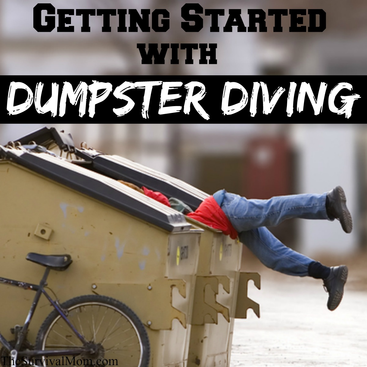 dumpster diving A man believed to be homeless was accidentally dumped into a trash truck at a chesapeake shopping center early wednesday morning.